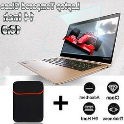 """16:9 14"""" Tempered Glass Screen Protector For HP/DELL/Lenovo"""