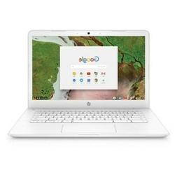 "HP 14"" Touchscreen Laptop 1.1GHz 4GB 16GB Chrome OS - White"