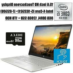 HP 15 2020 Premium Business Laptop I 15.6 Inch HD Touchscree