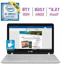 """ASUS 15.6"""" 2-in-1 FHD Touchscreen Laptop PC, Core i5-7200u"""