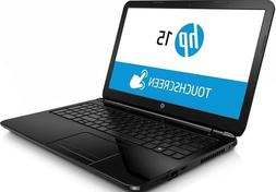 HP 15 r134cl 15.6 Touchsmart Laptop Intel Core i3 4005u 6GB