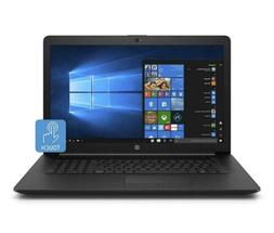 HP 17-inch Laptop, Intel Core i3-7020U Processor, 8 GB RAM,