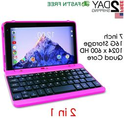 2 in 1 HD Laptop Tablet PC Small Computer 2-1 Touchscreen 16