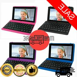 "2 in 1 Laptop Tablet PC 7"" Small Android Touchscreen w Keybo"