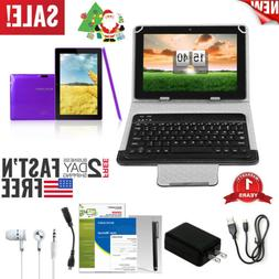 "7""2-in-1 Laptop Tablet & Keyboard Headset Kit Etc Bundle And"