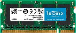 Crucial 2GB Single DDR2 800MHz  CL6 SODIMM 200-Pin Notebook