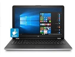 """Newest HP 15.6"""" Natural Silver High Performance Touchscreen"""