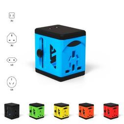 Travel Adapter and Charger by VLG - USB Charging Ports - Sup