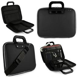 Black SumacLife Cady Briefcase Bag for HP ENVY x360 15t 15.6