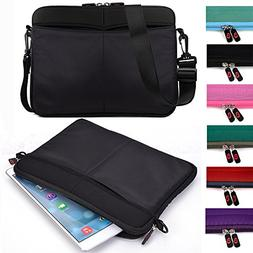 Kroo Tablet Sleeve Messenger Bag with Shoulder Strap Neopren