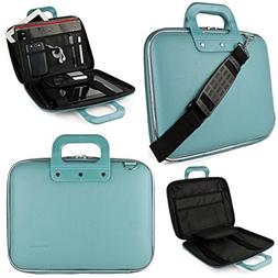 Blue SumacLife Cady Briefcase Bag for HP 14 to 15.6-inch Lap