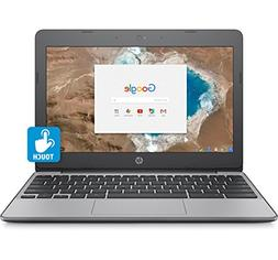 """HP Chromebook 11.6"""" HD Touch Screen with IPS, Celeron N3060"""