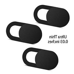 Webcam Cover 0.03in Ultra Thin , Web Camera Cover for Laptop