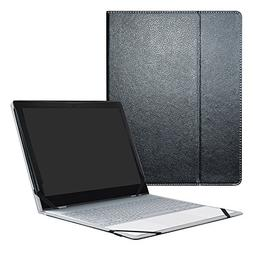 Google Pixelbook Case,Mama Mouth PU Leather Folio Carring Co