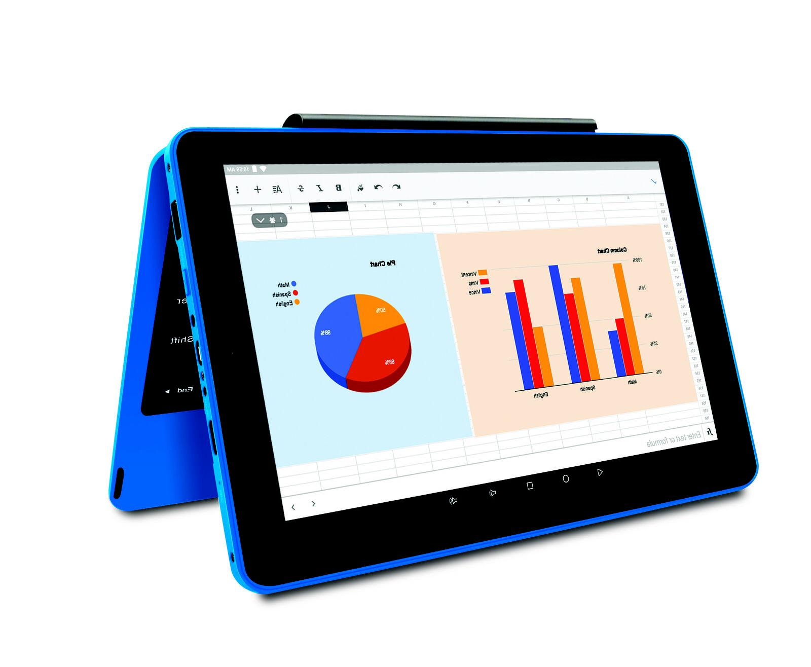 2-in-1 Tablet Blue Electronics