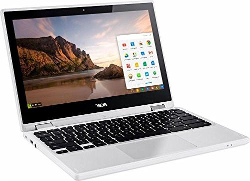 "2018 Newest 11.6"" Convertible HD IPS Touchscreen Intel Dual up 2.48GHz, 4GB RAM, SSD, 802.11ac, Bluetooth, HDMI, USB OS"