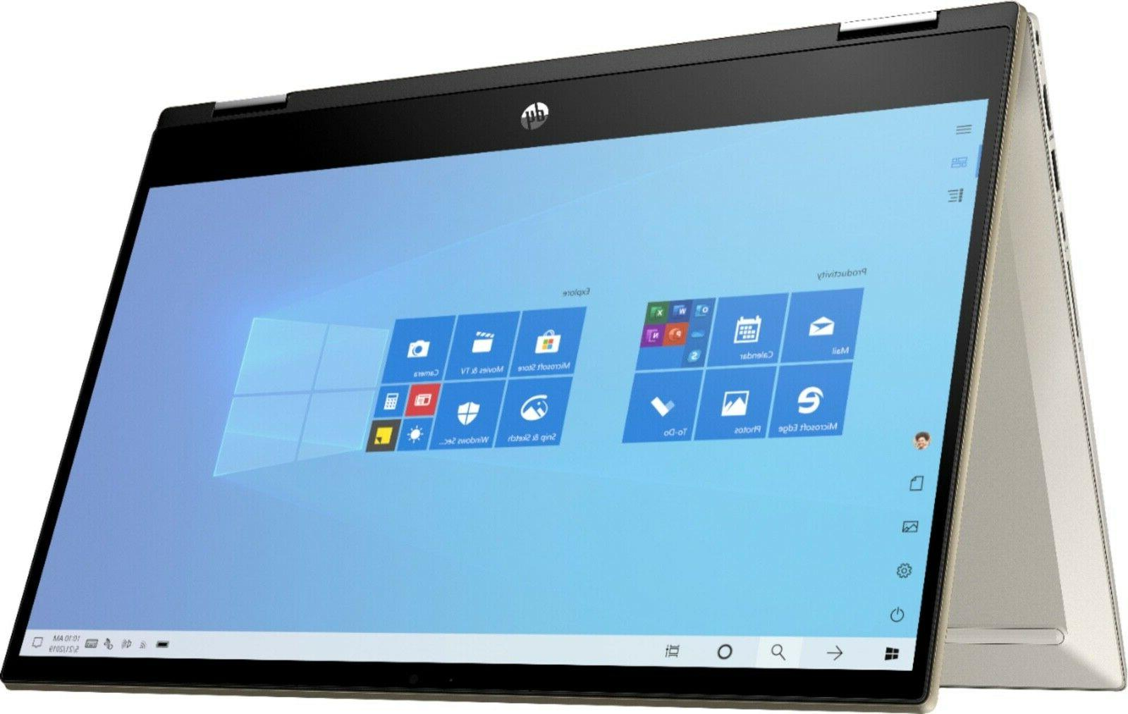 "2020 HP 14"" TouchScreen x360 Intel i5-1035G1, to 3.6GHz,32GB &1TB SSD"
