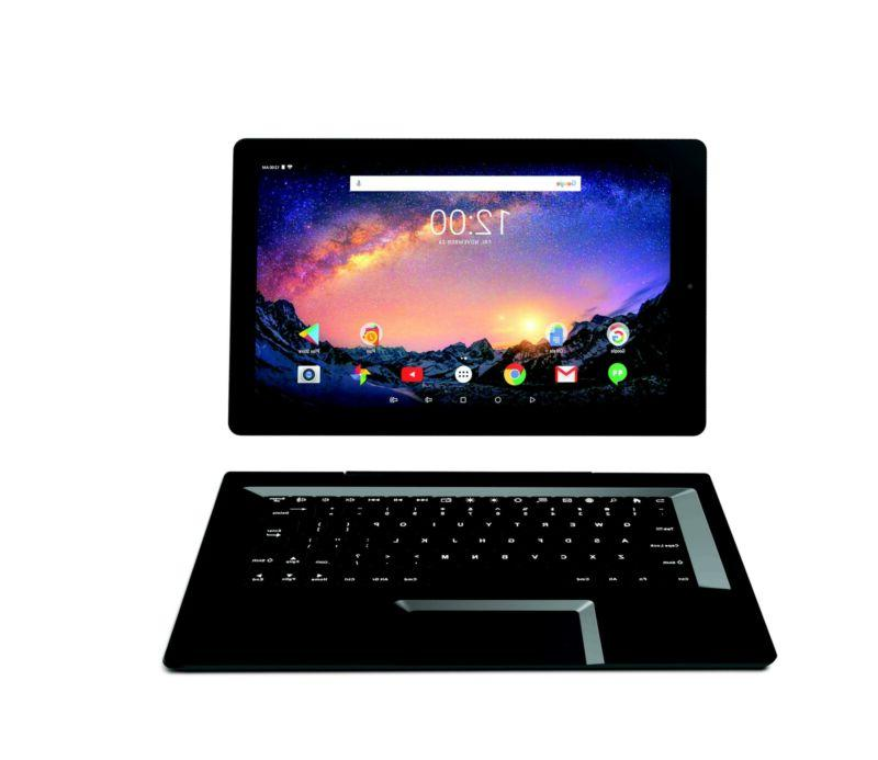 32GB 2-in-1 Pro Tablet Keyboard Android Charcoa