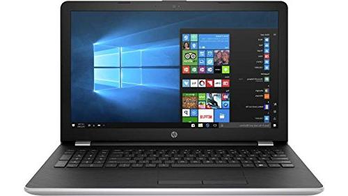 Newest HP 15.6 HD Laptop PC, i5-7200U Dual-Core, 2TB HDD, DVD, Stereo Speakers, Windows 10 Home