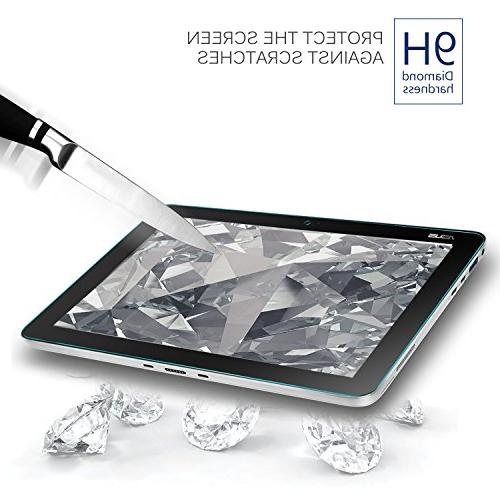 """KuGi Screen - 9H Clear Tempered Protector for ASUS 10.1"""" Transformer Mini 2 in 1 Touchscreen"""