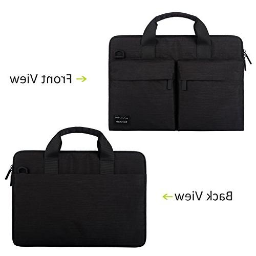 Cartinoe RFID Blocking inch Business Briefcase Messenger Carrying for ASUS Inspiron, Aspire, HP