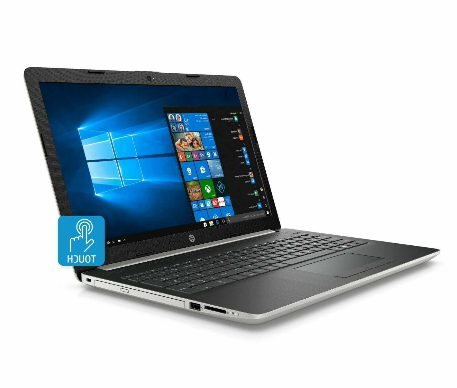 "NEW HP 15.6"" TouchScreen Laptop Intel Core i3-8130U,20GB Mem"