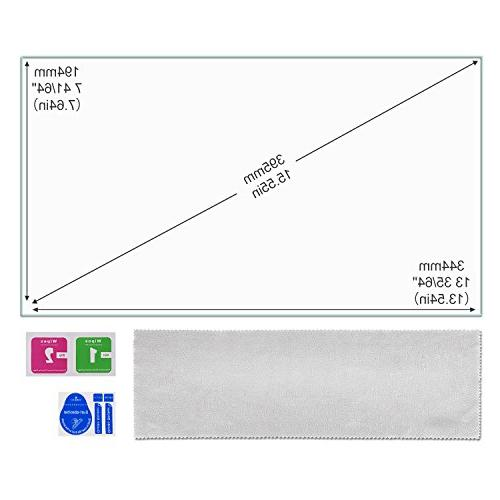 """Laptop Screen Protector Glass for 15.6"""" 9H Scratch Laptop 16:9, Dust Included"""
