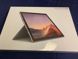 New Microsoft Surface Pro 7 QDX-00001 Touchscreen Platinum L