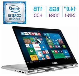 Newest ASUS 14.0-inch 2-in-1 Touchscreen FHD  Laptop PC, Int