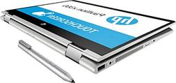 """Newest HP Pavilion x360 14"""" HD WLED Touchscreen 2-in-1 Conve"""