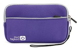 "DURAGADGET Purple 7"" Water & Scratch-Resistant Neoprene Case"