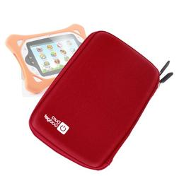DURAGADGET Red Cover with Soft Lining & Elasticated Strap fo