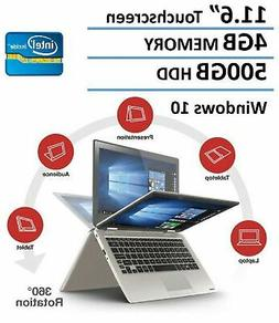 Toshiba Satellite Radius Premium 11.6 2-in-1 Touchscreen Lap