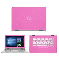 Sparkling Pink skin decal wrap skin Case for HP Spectre x360