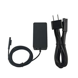 BOLWEO Surface Pro Power Supply 44W 15V 2.58A Compatible Mic