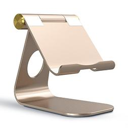 OMOTON Adjustable Tablet Stand Compatible with iPad, Tablets