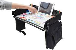 Kids Travel Tray Bag with Erasable Surface & Tablet Holder/C