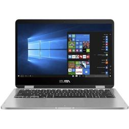 "ASUS VivoBook 2 in 1 Flip 14"" FHD LCD Touchscreen Laptop Com"