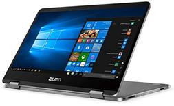 "Asus Vivobook Flip 14"" FHD Touchscreen 2-in-1 Laptop Compute"