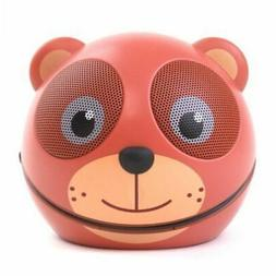 Zoo-Tunes Portable Mini Character Speakers for MP3 Players,